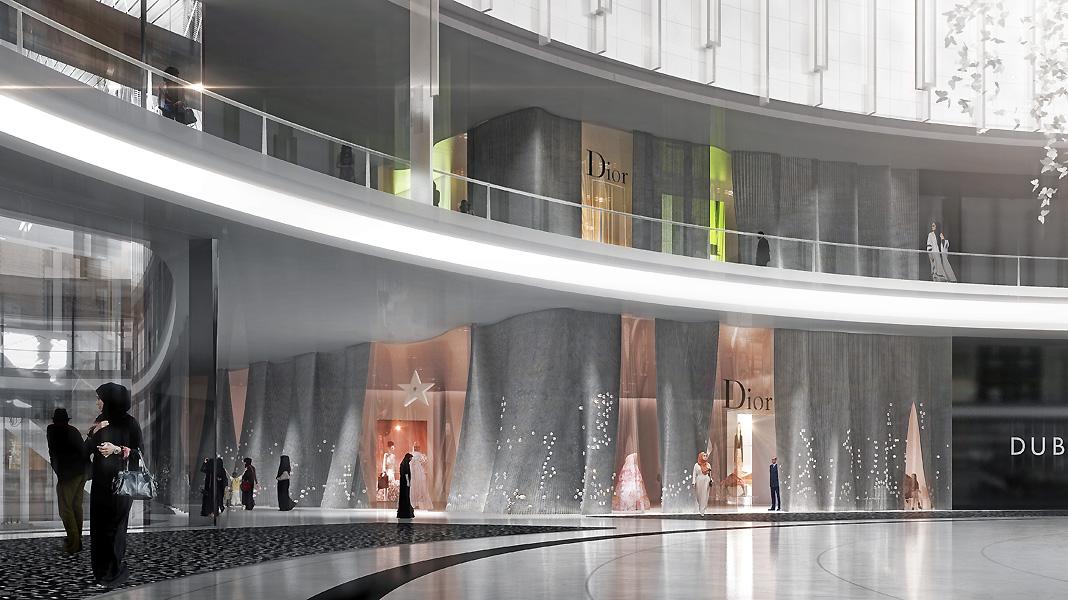 Dubai mall dior boutique manuelle gautrand for Dubai boutique