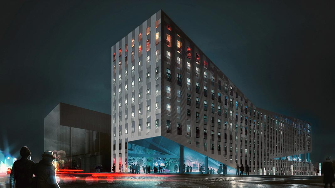 10.4B MIXED-USE BUILDING